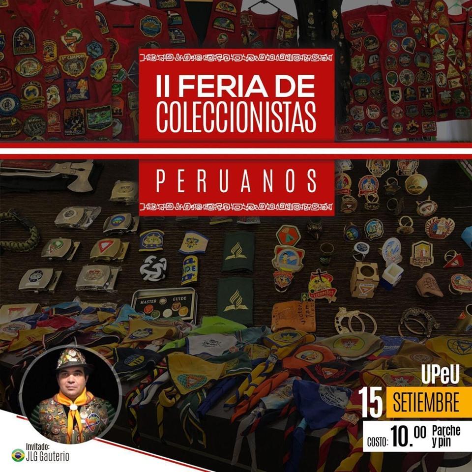 II Feria de Coleccionistas Peruanos